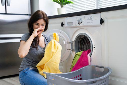 Vorschaubild zum Artikel Wäsche sinkt nach dem Waschen