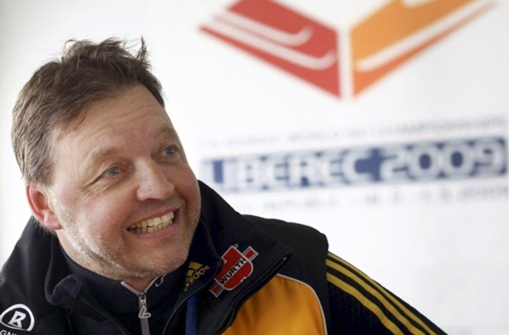 Der Fahnenträger 1998 in Nagano: Langläufer Jochen Behle. Foto: dpa