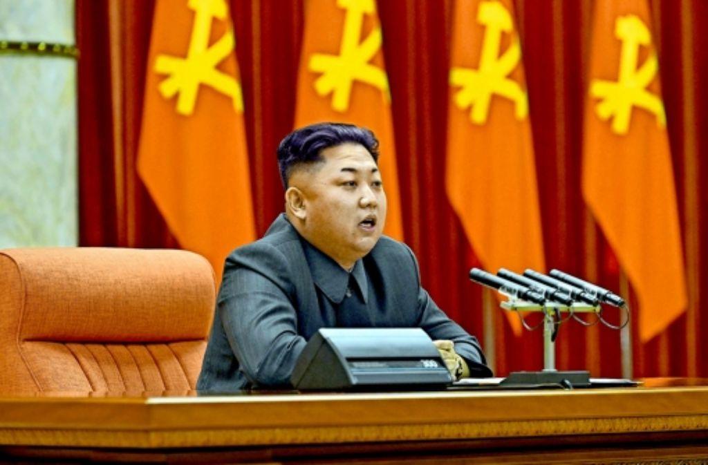 Kim Jong-un (oben) will das Drohpotenzial seines Landes erhöhen. Berichte über den Atomtest sorgten am Mittwoch für Sorge im  benachbarten Südkorea (Mitte). Im Zentrum für Erdbeben und Vulkane in Seoul wurde die Explosion aufgezeichnet (unten). Foto: KCNA