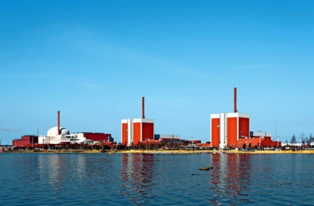 Auf der finnischen Atom-Halbinsel Olkiluoto produzieren bereits zwei Reaktoren Strom, der dritte, Olkiluoto III, befindet sich im Bau. Foto: TVO