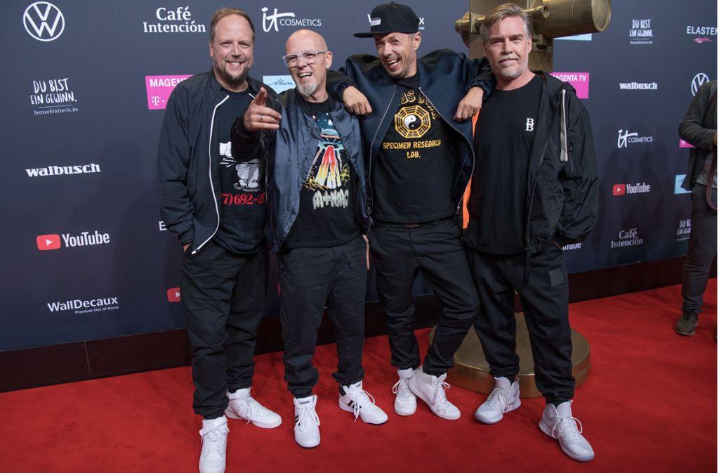 Die Fantastischen Vier feiern den 30. Geburtstag ihrer Erfolgsband. Foto: dpa/Jörg Carstensen