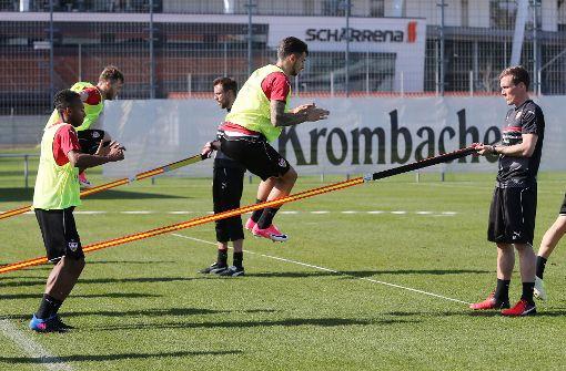 VfB bereitet sich auf englische Woche vor