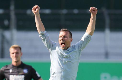 KSC-Trainer Eichner will Kader mit mehr Tempo