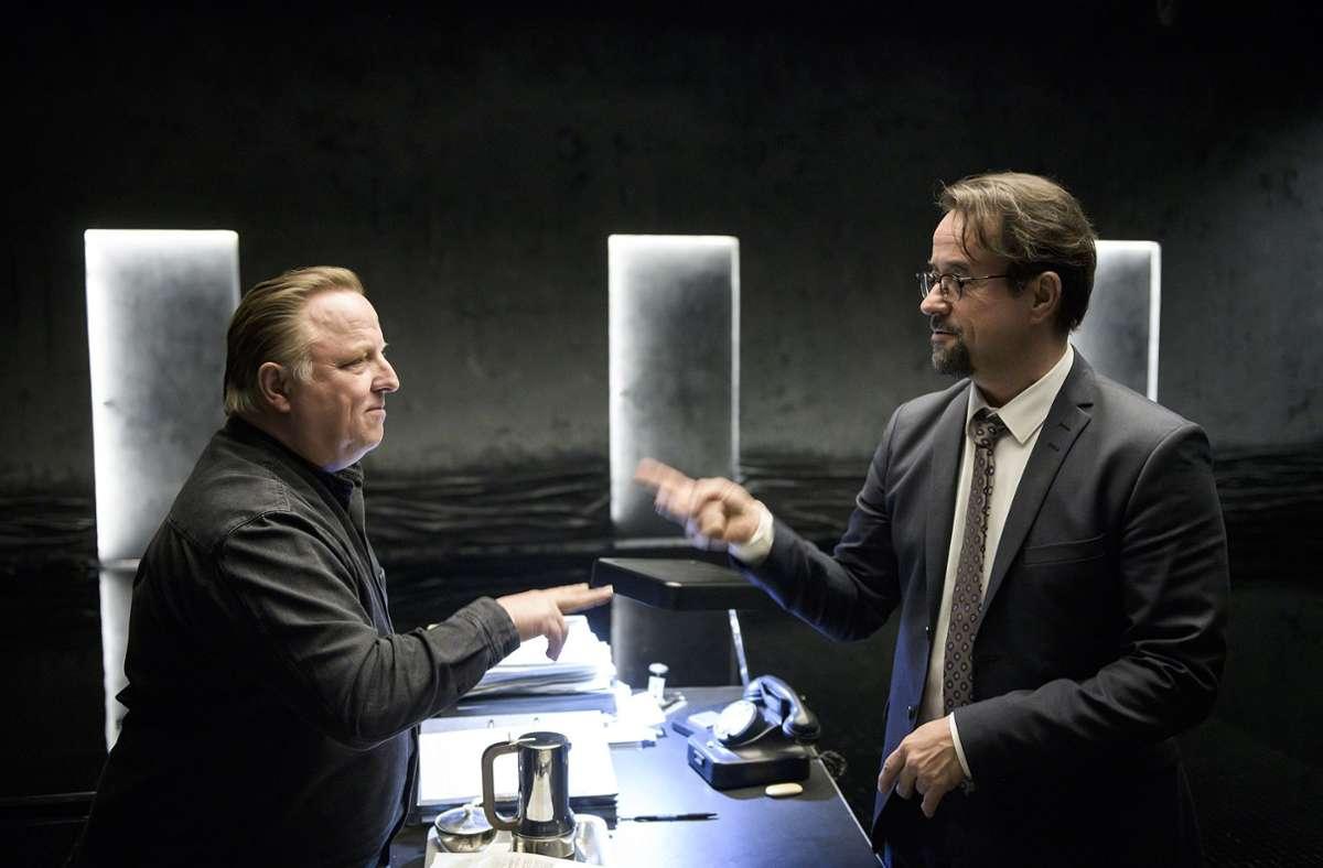 """Fast 13 Millionen Zuschauer lockte  der Tatort """"Limbus"""" vor den Fernseher. Das schaffte 2020 keine andere Folge zuvor Foto: dpa/Martin Valentin Menke"""