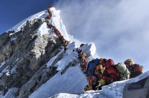 Nepal will mehr Geld für  Mount-Everest-Besteigung