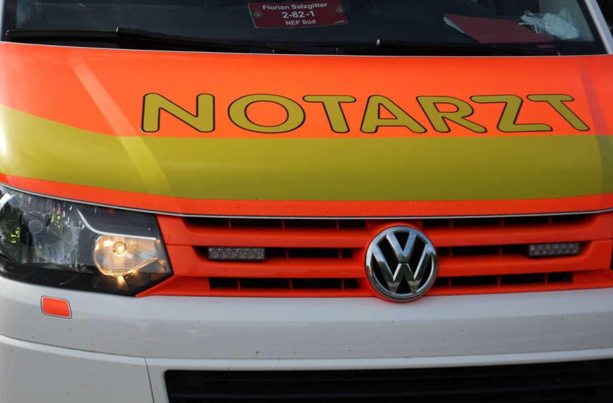 Als der Notarzt eintraf, atmete die Mutter wieder. (Symbolbild) Foto: imago images/Die Videomanufaktur/Martin Dziadek via www.imago-images.de