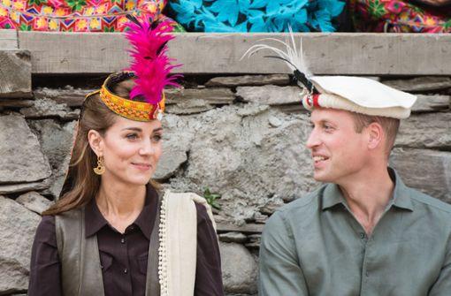 Royals besuchen pakistanische Stadt Lahore