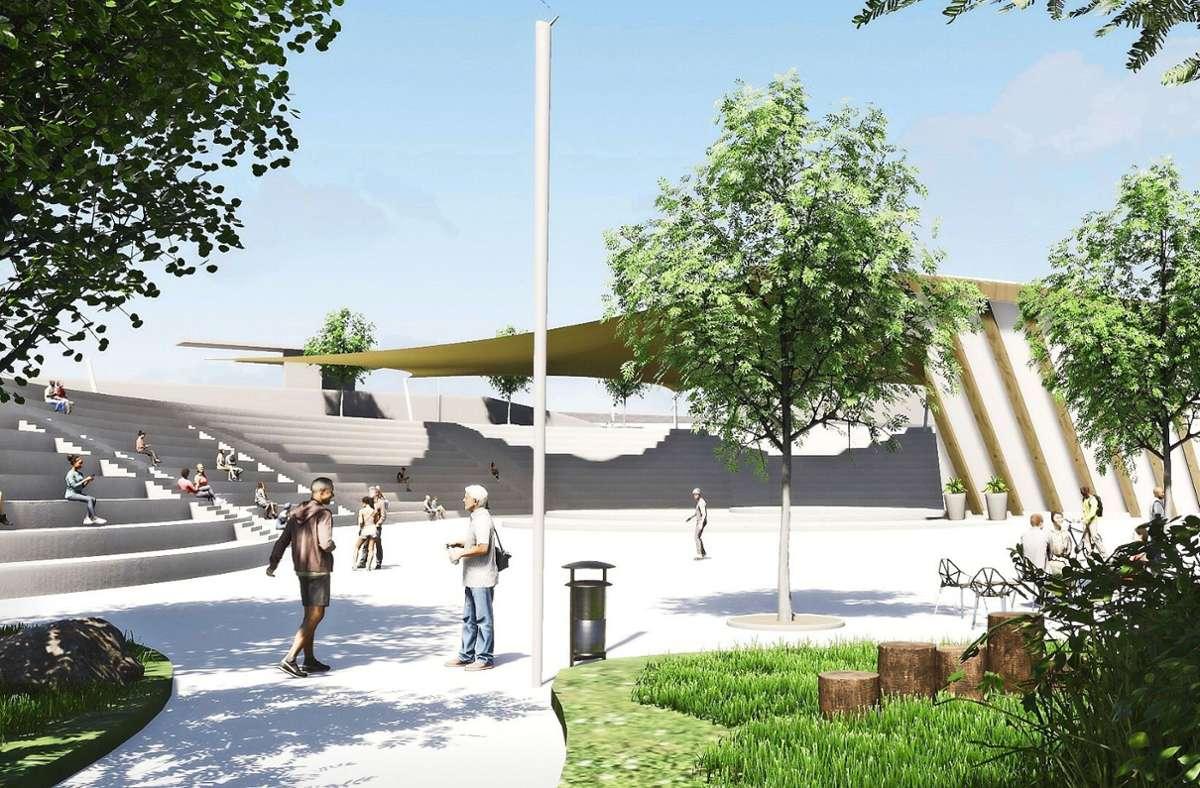 Circuleum soll offen für alle sein, die Freilichtbühne ist ein Teil der Konzeption, die die Initiatoren in den Beteiligungsprozess zum Aurelis-Areal eingebracht haben. Foto: privat