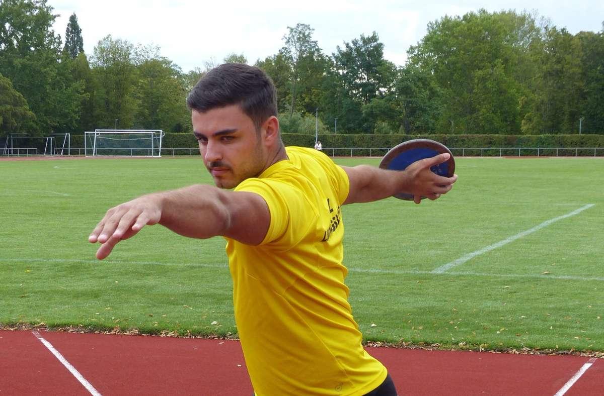 Robin Vrbek gewinnt die Silbermedaille bei der U20. Foto: Michael Käfer/Michael Käfer