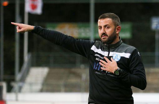 Mustafa Ünal als kleiner Hellseher vor dem Spiel in Ilshofen