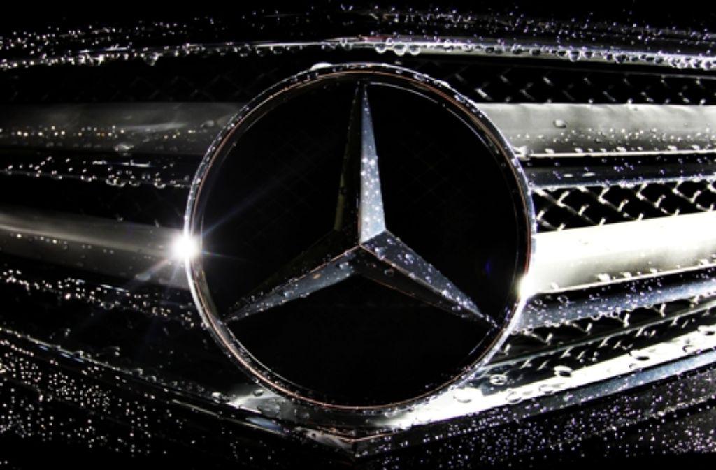 Der Stern aus Stuttgart leuchtet: Daimler ist unter den 100 teiersten Firmen der Welt. Foto: dpa