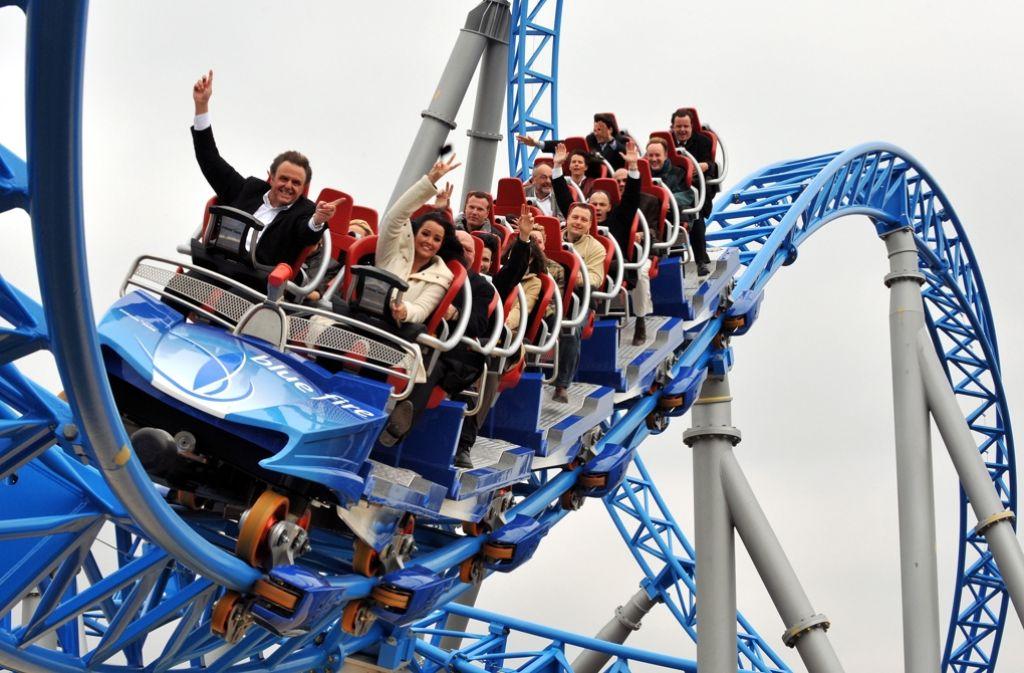Deutschlands größter Freizeitpark zählt mehr als zwei Millionen Besucher in vier Monaten. Foto: Archiv/dpa
