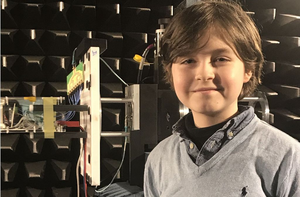 Laurent Simons ist neun Jahre alt und macht derzeit seinen Bachelor in Elektrotechnik an der der Universität in Eindhoven. Foto: dpa/Annette Birschel