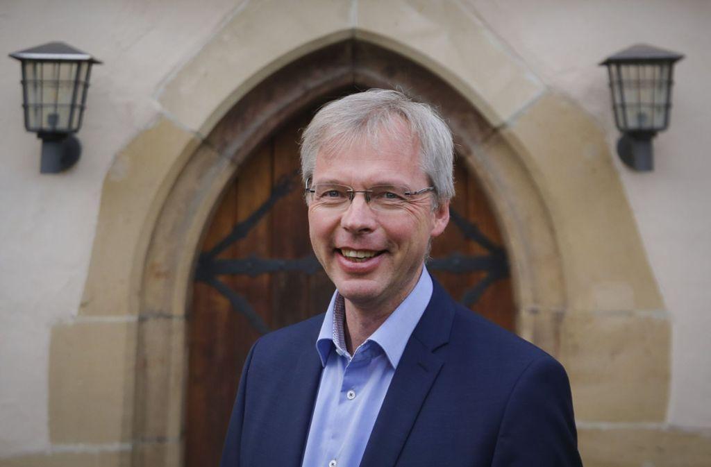 Der Ditzinger Bezirkskantor Andreas Gräsle hat die Gesamtleitung bei dem Oratorium, das am Sonntag aufgeführt wird Foto: factum/Granville
