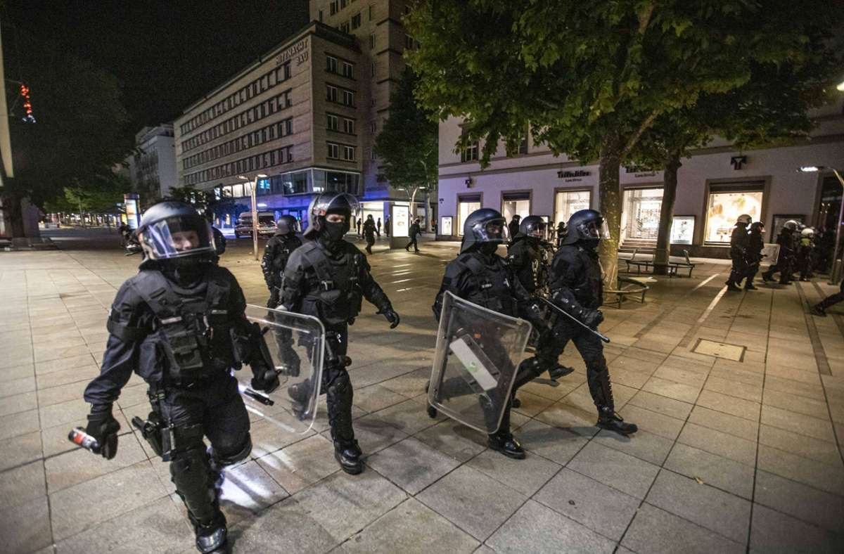 Die Polizei bereitet für das kommende Wochenende einen Großeinsatz vor. Foto: 7aktuell/Simon Adomat