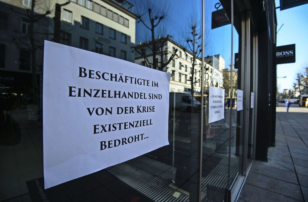 Die Sorgen im Handel sind riesengroß – am Montag dürfen manche Läden endlich wieder öffnen, aber eben nicht alle. Foto: Lichtgut/Leif-Hendrik Piechowski
