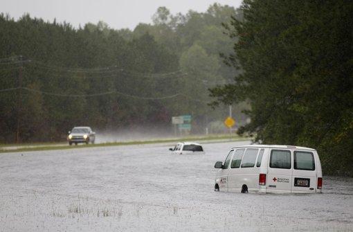 US-Ostküste steht unter Wasser