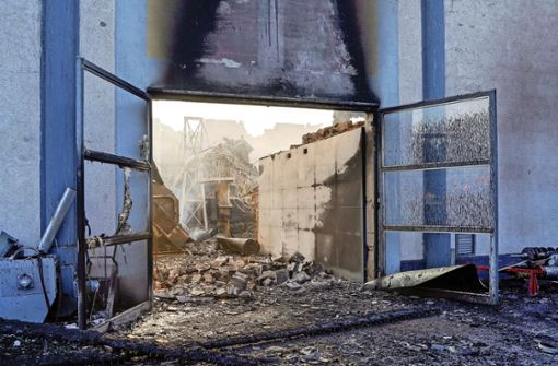 Nach dem Brand: Landkreise wollen modernste Anlage