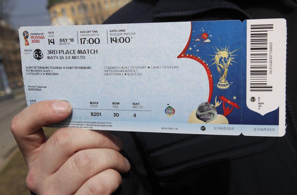 Wer das Deutsche Nationalteam bei der WM in Russland begleiten will, muss für Tickets und Hotel mehrere Tausend Euro ausgeben. Foto: AP