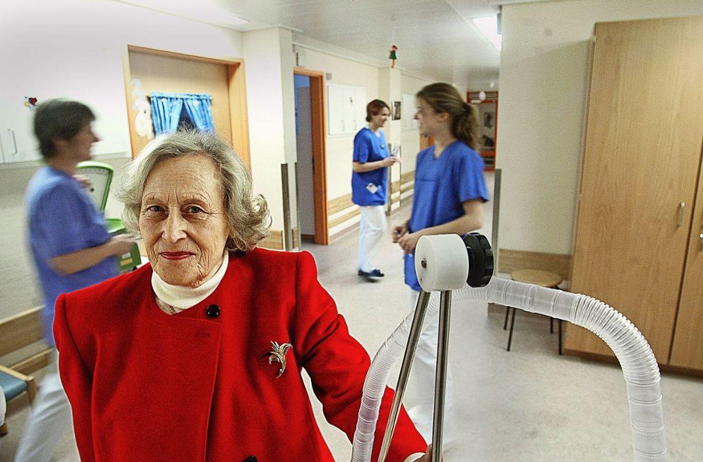 Krebskranke Kinder und ihre Familien zu unterstützen, war Ilse-Irmgard Dörges ein Herzensanliegen. Foto: Werner Kuhle