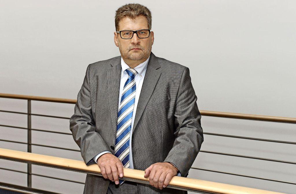 DPolG-Landeschef Ralf Kusterer stärkt der aktuellen Beamtenbund-Führung den Rücken – gegen einen Spitzenvertreter der eigenen Polizeigewerkschaft. Foto: DPolG