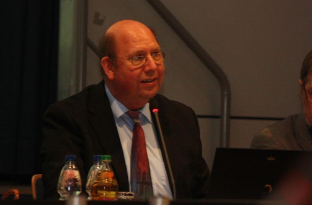 Gefragter Gesprächspartner: Professor Uwe Steinborn von der TU Dresden Foto: Natalie Kanter