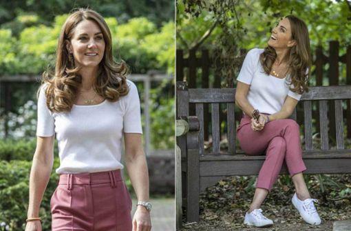 Sie trägt Hose – und ihre Lieblingssneaker