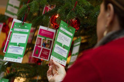 Tanne soll zum Weihnachtswunschbaum werden
