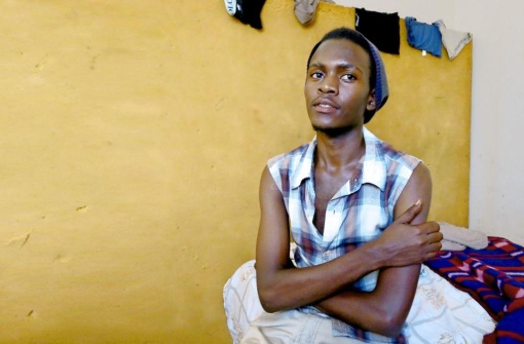 Jaw hat in einer Wohngemeinschaft für Schwule Unterschlupf gefunden. Foto: Keck