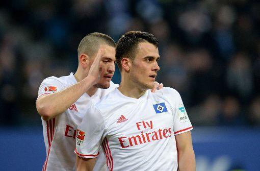 Kostic und Wood schießen HSV zum Sieg gegen Gladbach
