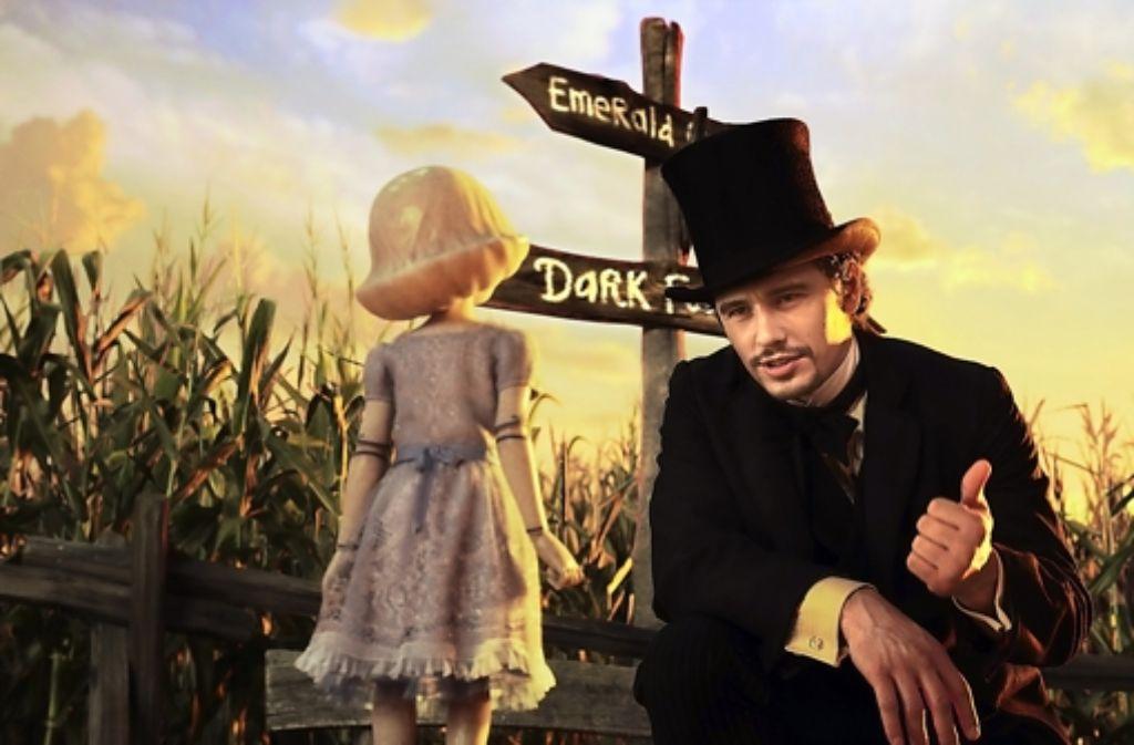 James Franco als Zauberer von Oz Foto: Verleih