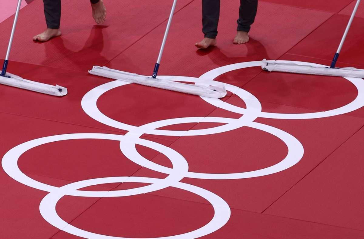 Die Judoka sorgen für den nächsten Eklat bei den Olympischen Spielen. Foto: AFP/JACK GUEZ