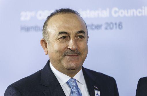 Friedensplan laut Türkei in Gefahr