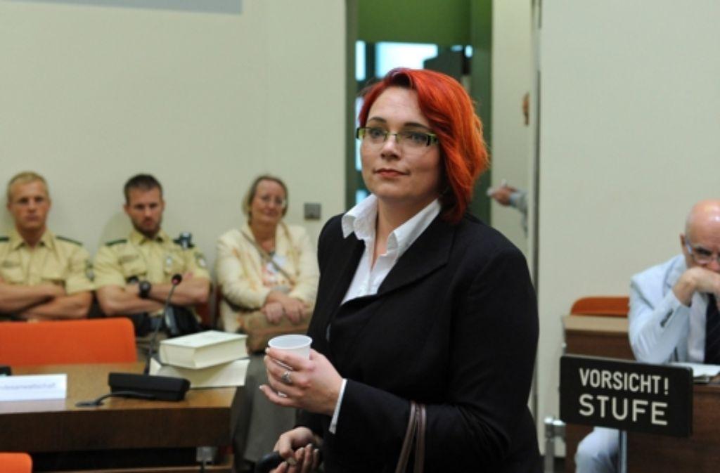 Nicole Schneiders ist laut Verfassungsschutz in die rechte Szene verstrickt Foto: dpa