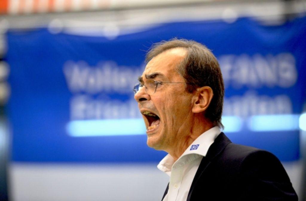 Der Deutsche Volleyball-Verband (DVV) ermittelt gegen Stelian Moculescu. Foto: dpa