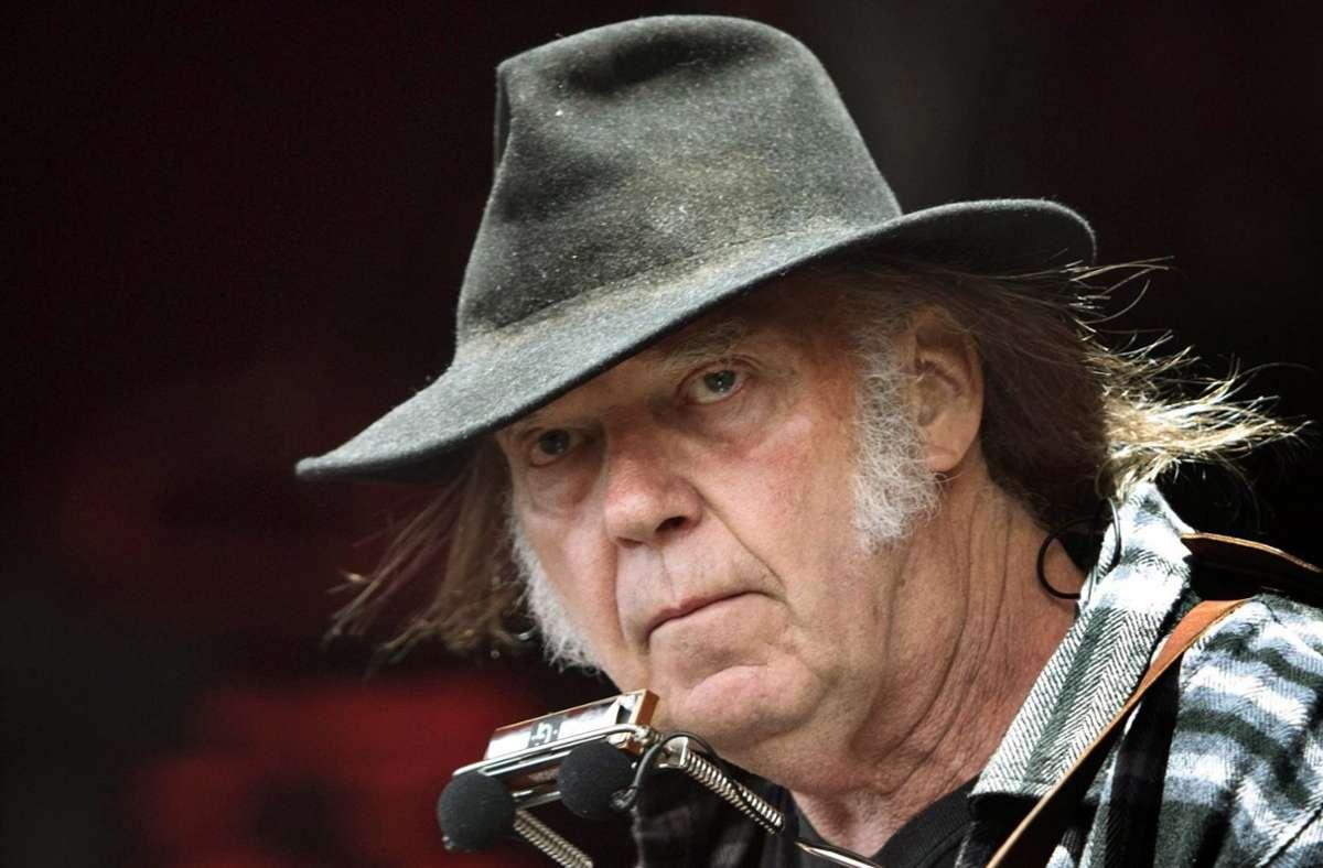 Neil Young hat wohl keine Geldsorgen mehr. Foto: dpa/Nils Meilvang
