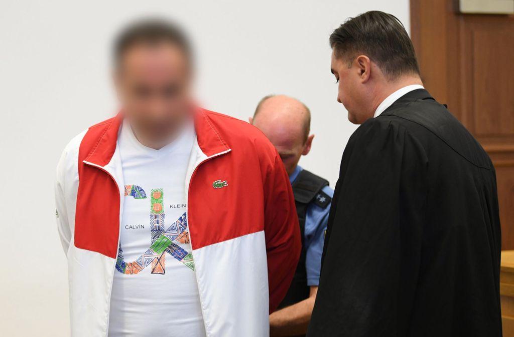 Dem Angeklagten wird vorgeworfen, den Sohn des Unternehmers Reinhold Würth entführt zu haben. Foto: dpa