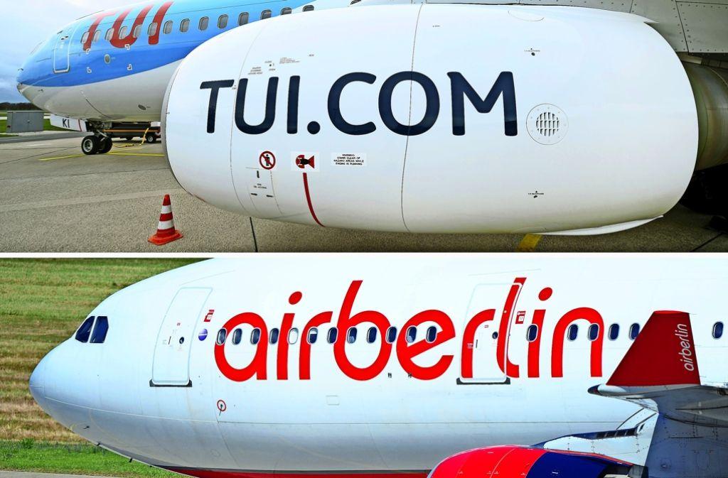 Weil die Crew sich krank meldet, bleiben Jets von Tuifly und Air Berlin am Boden. Foto: dpa