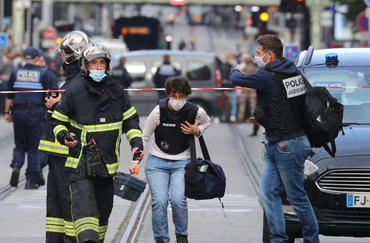 Die Hintergründe der Messerattacke in Nizza sind noch unklar. Foto: dpa/Valery Hache