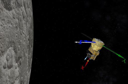 "Chinesische Mondsonde ""Chang'e 5"" kurz vor der Landung"