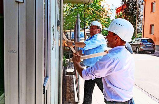 Die Baugesellschaft lässt es krachen