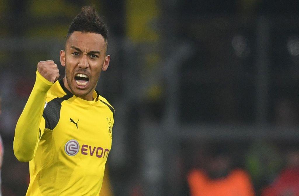Heiß begehrt: Dortmunds Topstar Pierre-Emerick Aubameyang. Foto: dpa