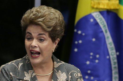 Rousseff weist Amtsenthebungsverfahren zurück