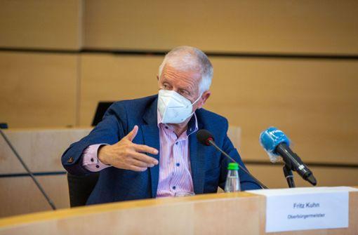 Fritz Kuhn kündigt Maskenpflicht im Cityring an – auch im Freien