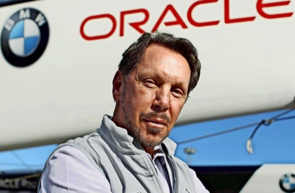 An Selbstbewusstsein hat es der Oracle-Chef nicht mangeln lassen. Foto: AP