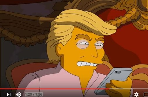 Die Simpsons veralbern Trump