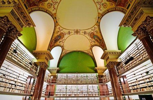 Revolutionär und hilfreich: in der herzoglichen Bibliothek in Wolfenbüttel sortierte Leibniz einst den Katalog neu. Foto: Mauritius