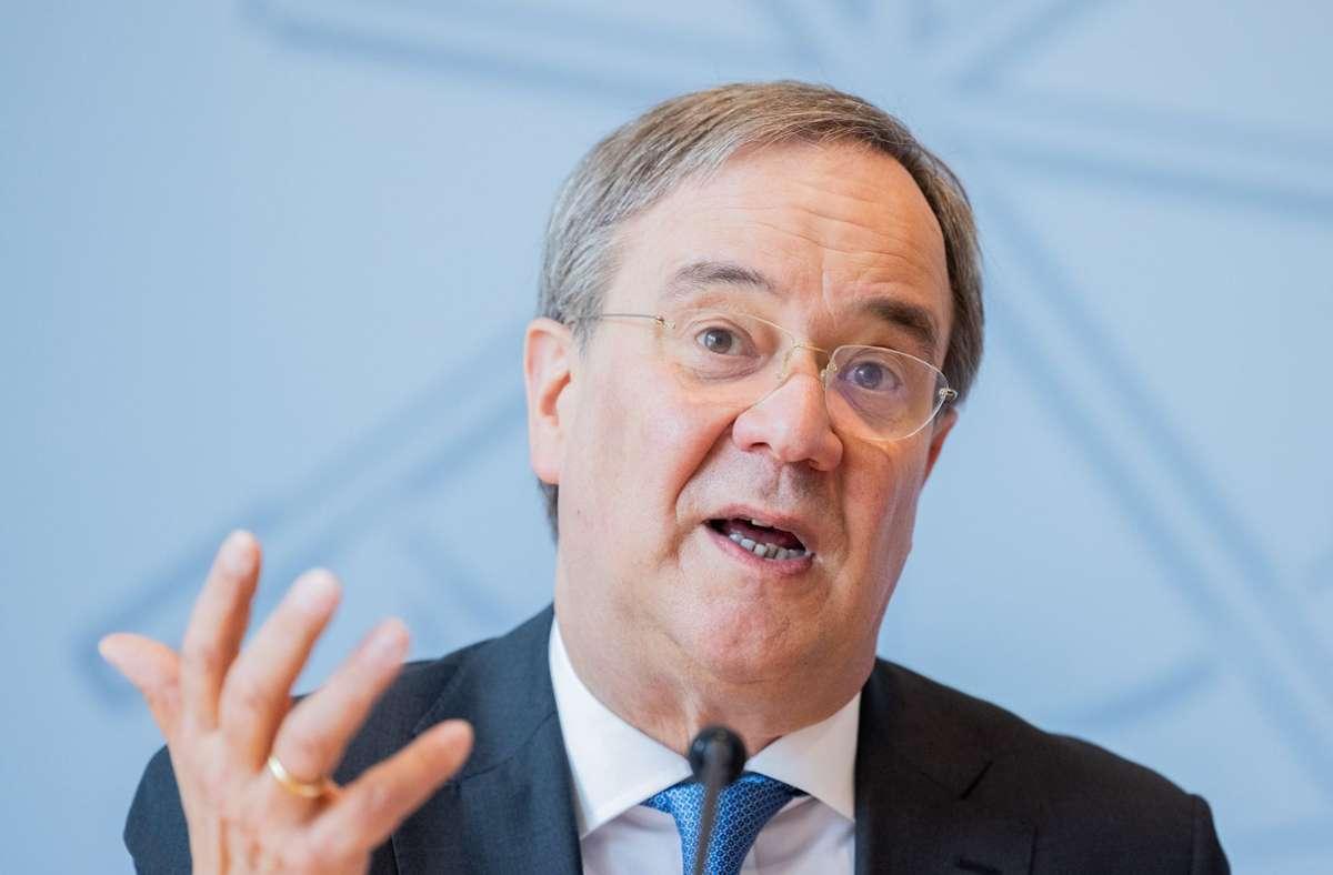 CDU-Kanzlerkandidat Armin Laschet nimmt nicht an dem ProSieben-Format teil. Foto: dpa/Rolf Vennenbernd