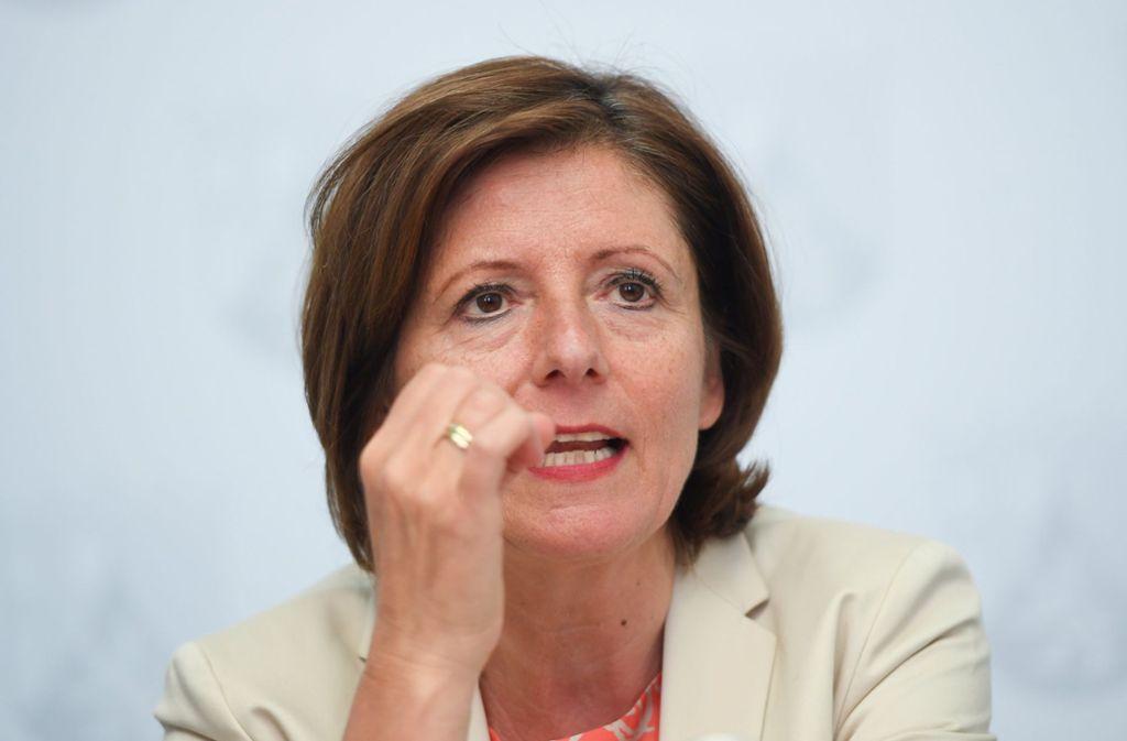 SPD-Vorsitzenden Malu Dreyer will keine geschlossenen Transitzentren. Foto: dpa