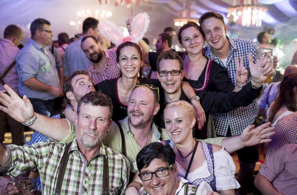 Die Stimmung im Festzelt von Sonja Merz war wie immer großartig. Foto: 7aktuell.de/Oskar Eyb